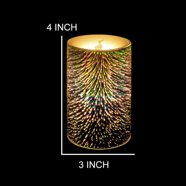 1pcs Colorful Seven Color Changing Flameless Candles Led Candle