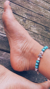Pearl Starfish Bracelet (or anklet)!