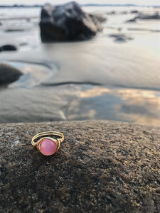 Precious Pink Ring - Nautical Sun Beads