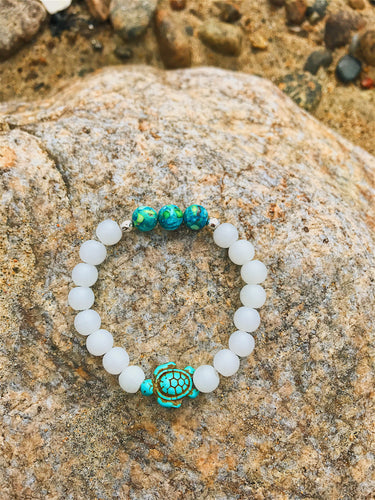 Boho Turtle Bracelet - Nautical Sun Beads