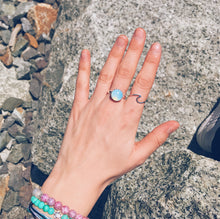 Opal Moonstone Ring - Nautical Sun Beads