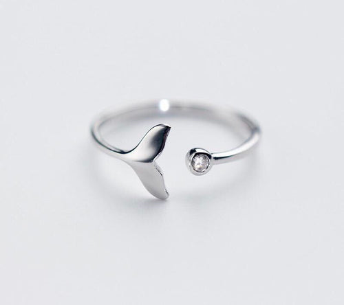Whale Tail Wrap Ring
