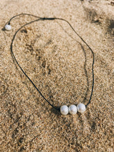 Three Pearl Necklace - Nautical Sun Beads