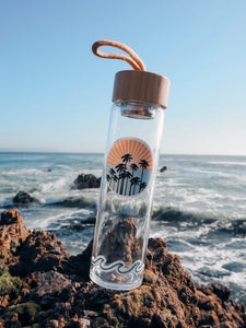 Reusable Bamboo Water Bottle