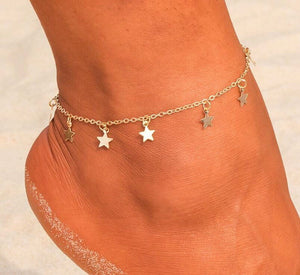 Dainty Starlight Anklet