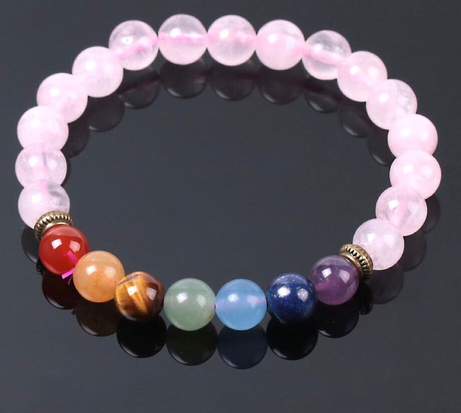 Healing Chakras Bracelet - Nautical Sun Beads