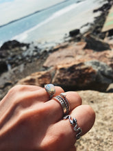 Opal Moon Ring - Nautical Sun Beads