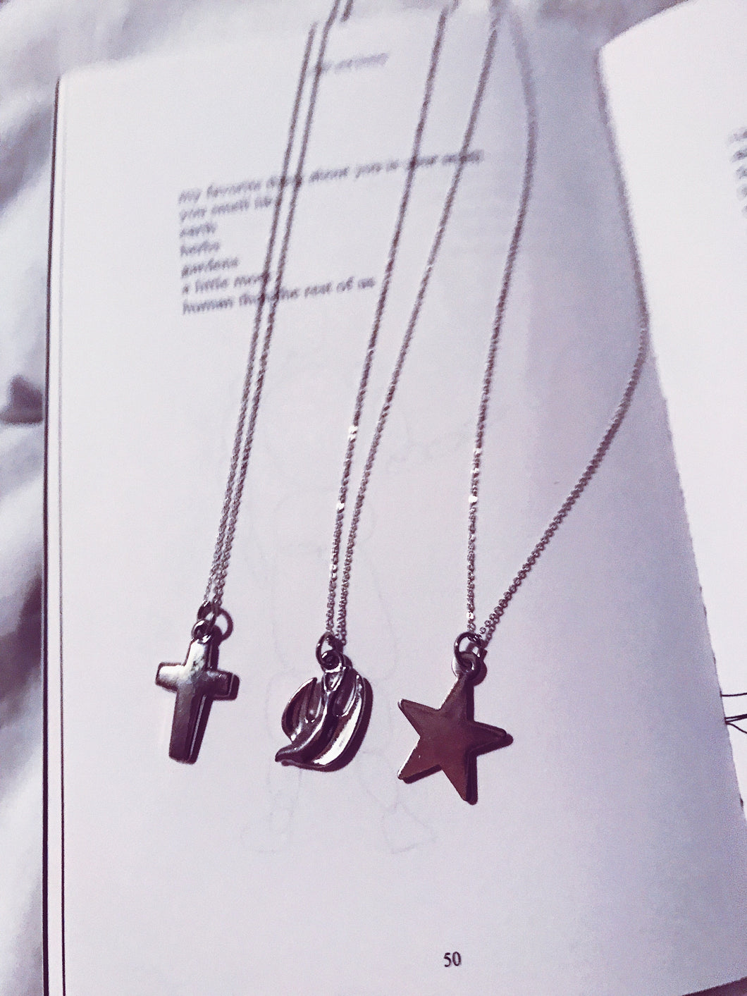 Cross, Dove and Star Necklaces - Nautical Sun Beads