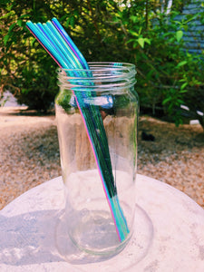 Colorful Reusable Straws (Pack of 2)