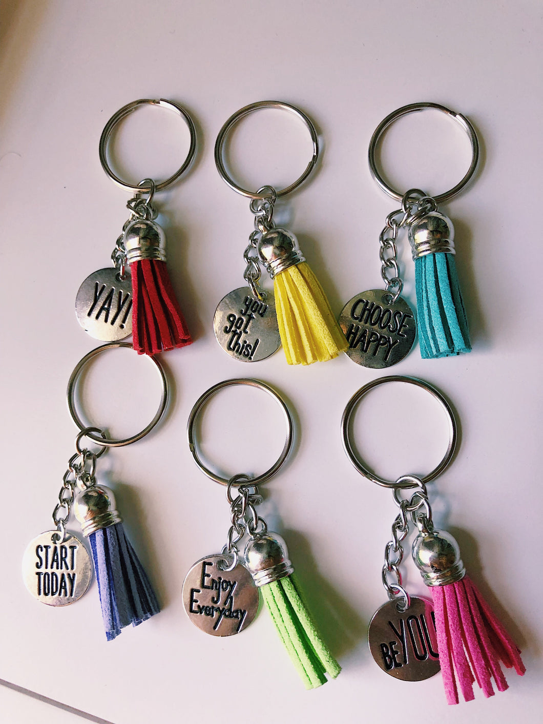 Positive Affirmation Keychains
