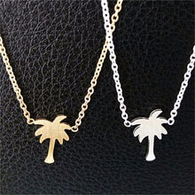 Palm Tree Necklace - Nautical Sun Beads
