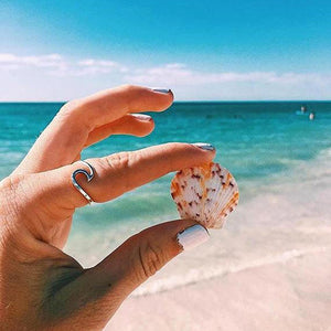 Wave Ring - Nautical Sun Beads