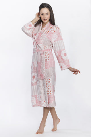 Soft Floral Robe