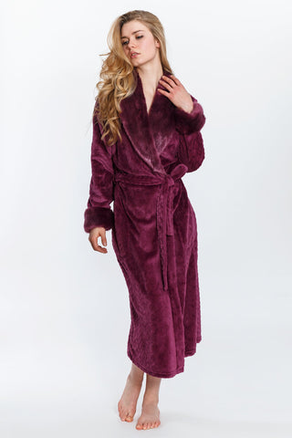 Red-Cable Robe