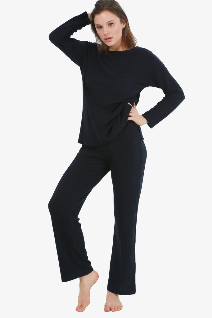 JNY - THE RIB KNIT LOUNGE SET