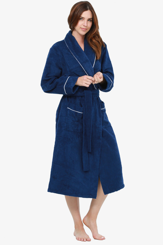 JNY - The Perfect Spa Robe (Navy)