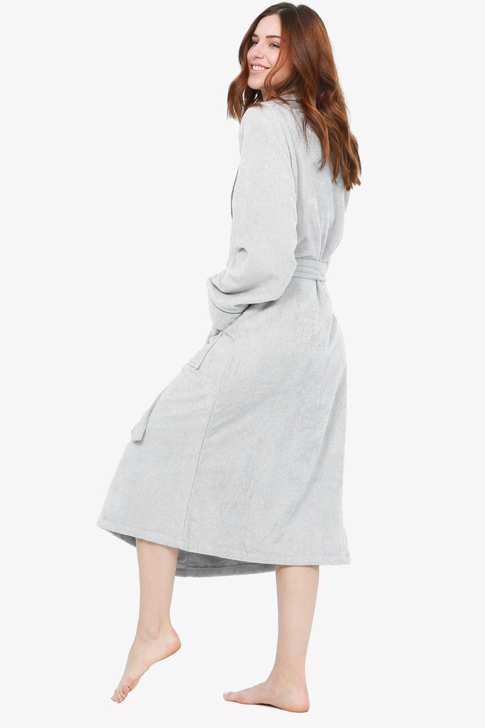 JNY - The Perfect Spa Robe (Silver)