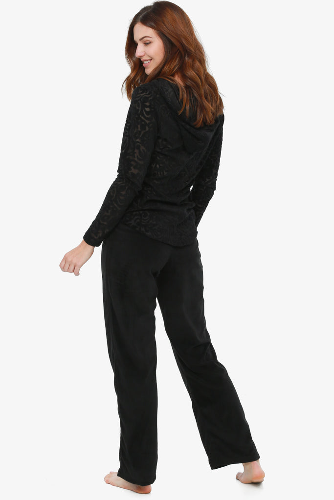 JNY - Midnight Velvet Pajama Set