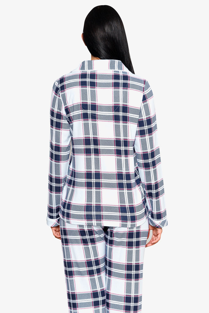 JNY - BEAUTIFULLY PRINTED NOTCH COLLAR PAJAMA