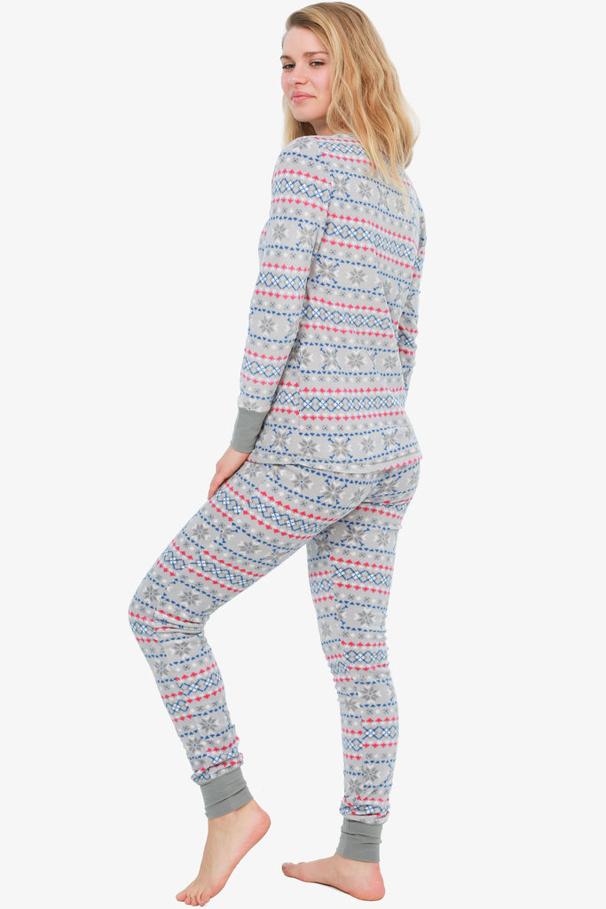 Micro-Fleece Pajama Set (Grey)