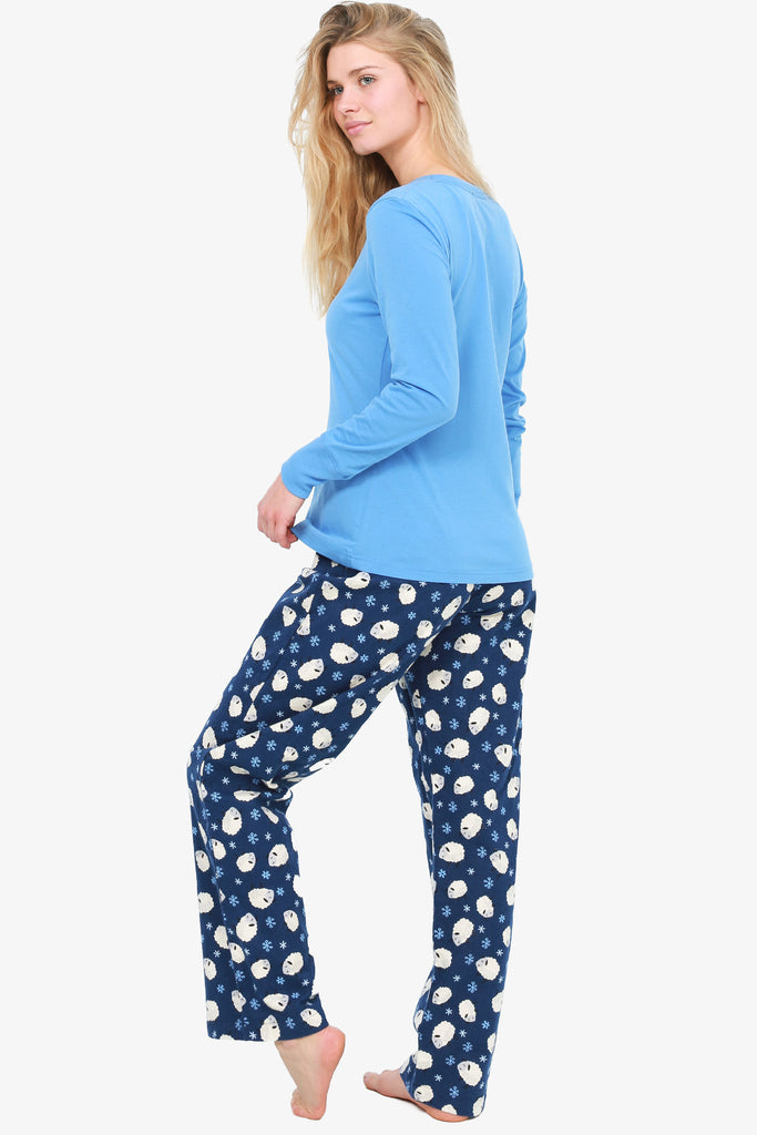 Sheep Pajama Set (Blue)