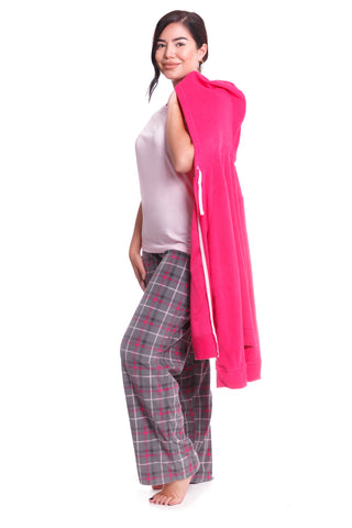 Winter Loungewear Pink Onesie