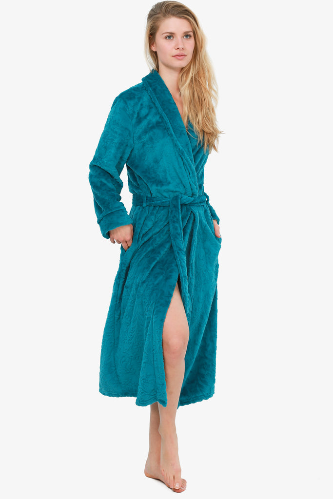 The Chic Teal Robe (Teal)