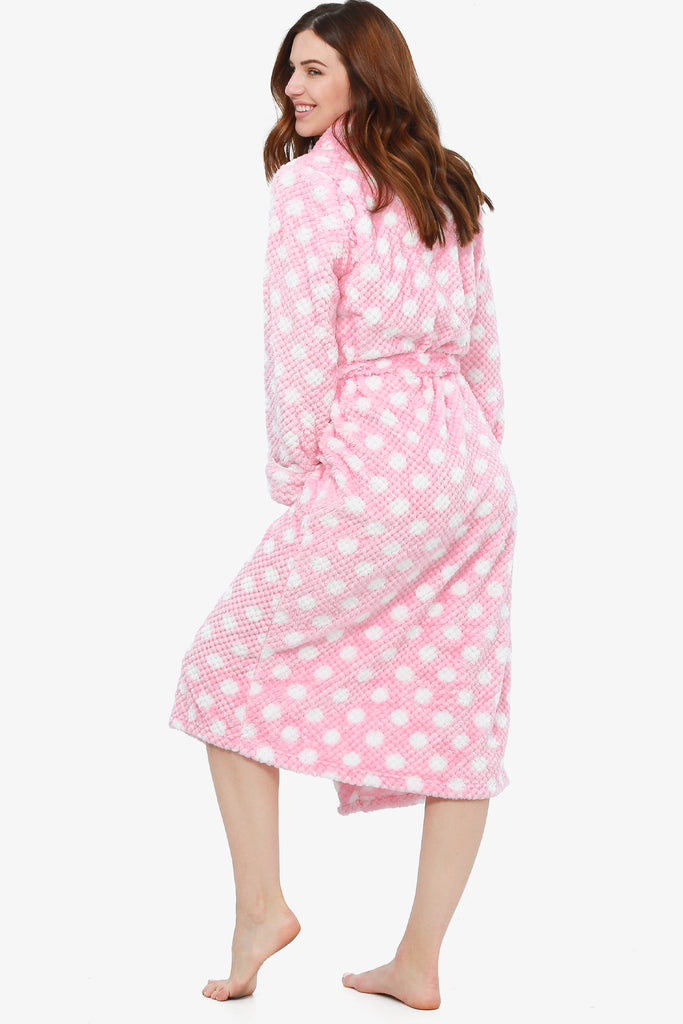 Breast Cancer Awareness Plush Robe (First Blush)