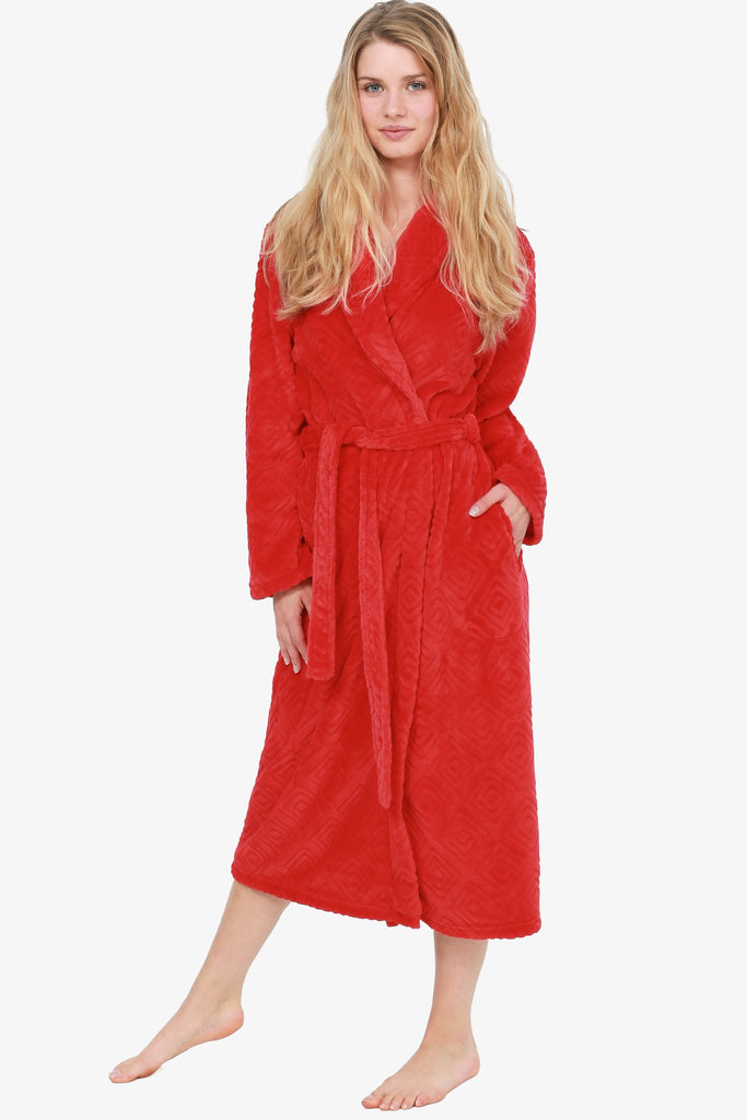 THE SCARLETTA ROBE (RED)