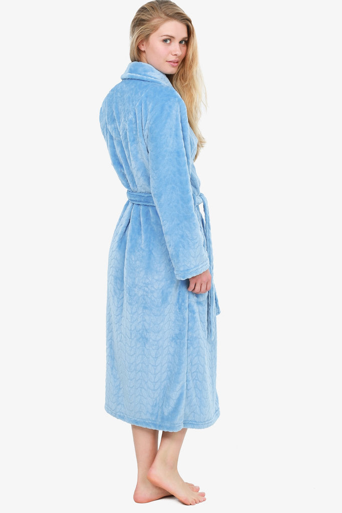 THE AZURRO LEAF ROBE (BLUE)