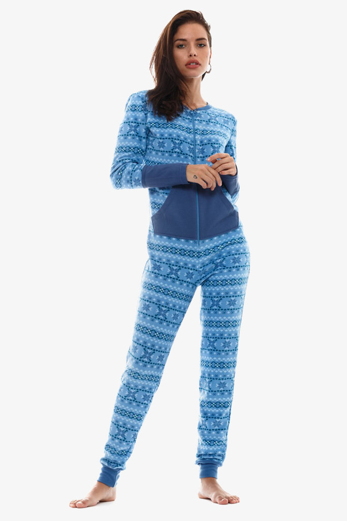 The Cozy Onesie (Blue)