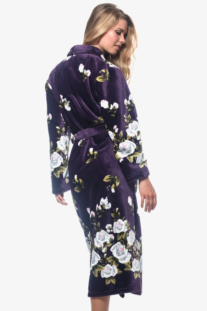 The Purple Gardenia Robe