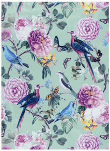 10 x 13 Birds and Butterflies Designer Poly Mailers