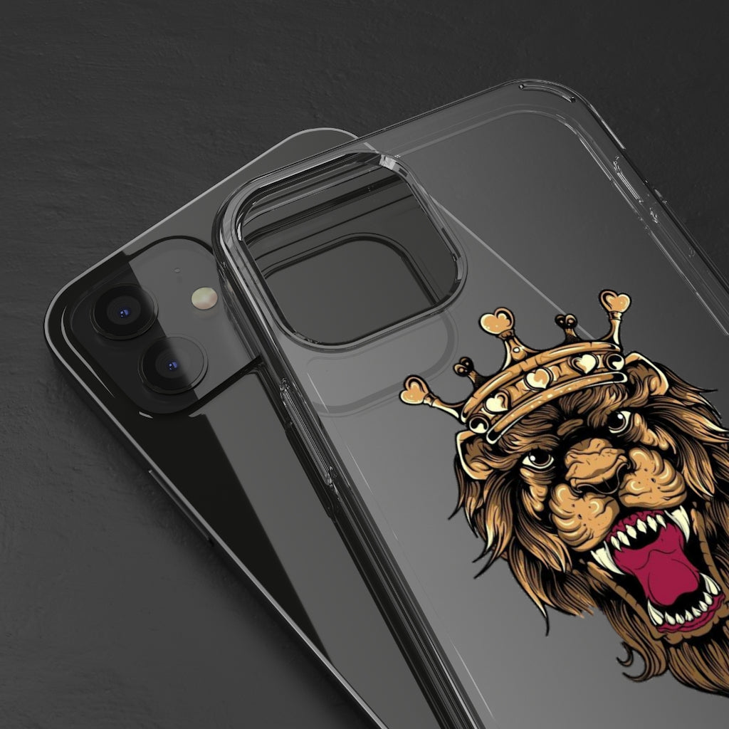 Heart of a Lion Clear Cases