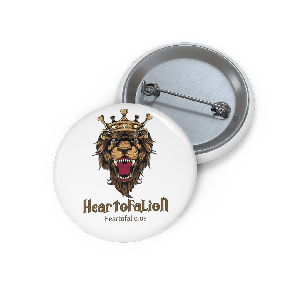 Lion custom Pin Buttons