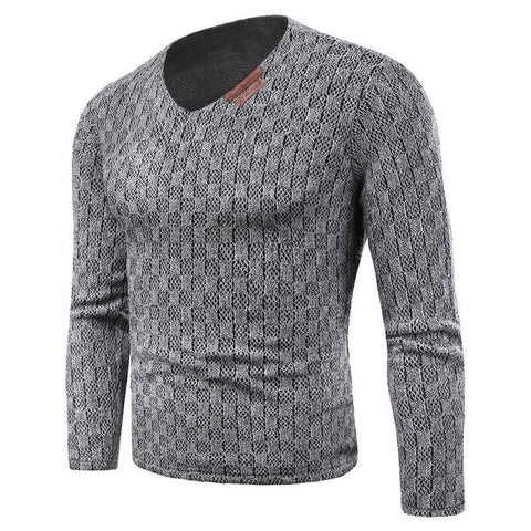 Plus Size 6XL Men Knitting Tee Shirt Fleece Liner Clothing Long Sleeve Pullover Autumn Winter Warm Velvet Leisure Top Sweaters