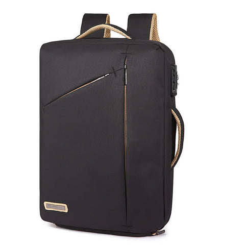 Current Package Backpack Fashion Storage Laptop Notebook Backpack Computer Bag 2 in 1 Coded Lock Carrying Case Accessories