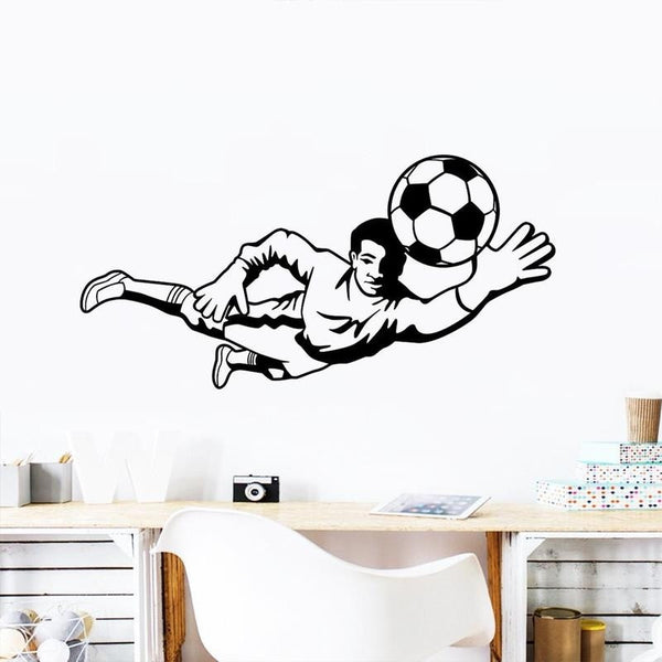 2018 Russia 3D Soccer Pattern Wall Sticker Home Decor