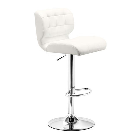 Zuo Formula Bar Chair White
