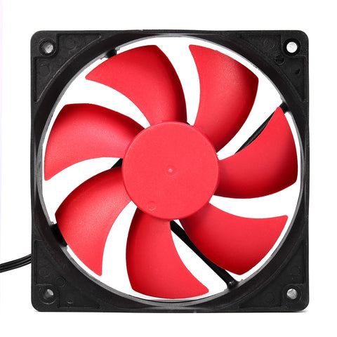 12cm DC 12V Cooling Fan for Mining Computer Case PC Cooling Cooler 3 Pin 4 Pin Dual Ball Bearing Portable Computer Accessories