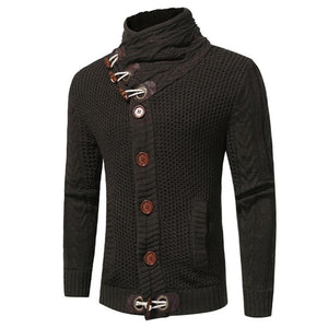 stylish Men Sweater Knitted Cardigans All Match Outerwear Jackets Men Clothing Blouse Top