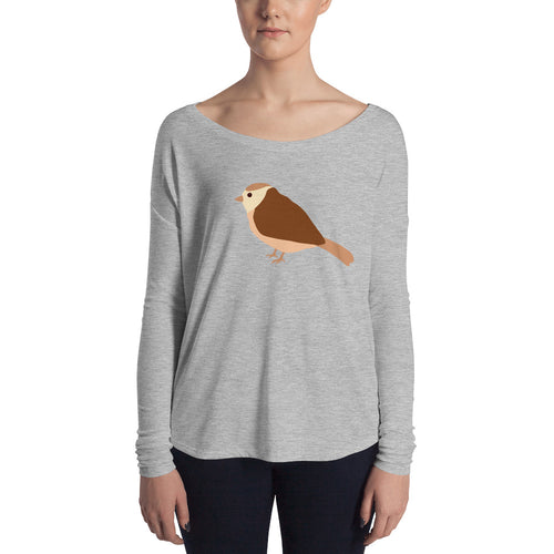 Girls Long Sleeve Bird Tee