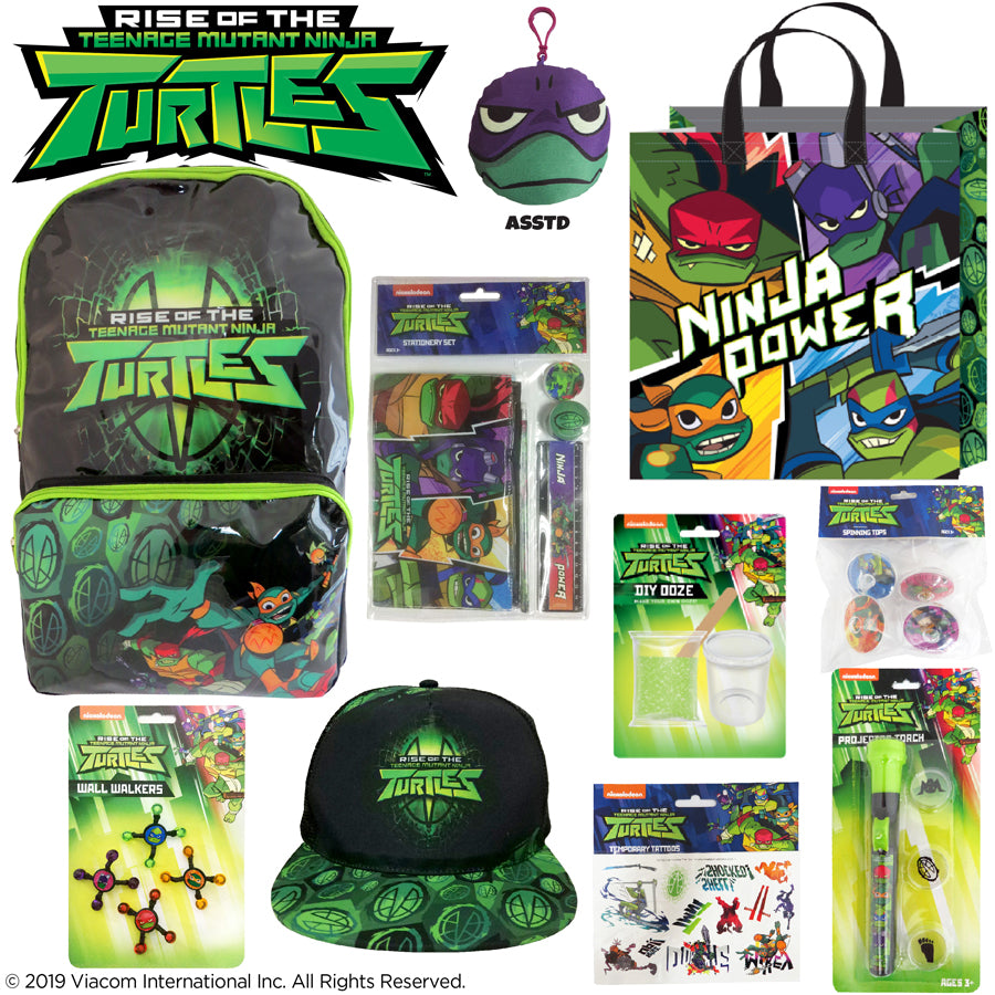 TEENAGE MUTANT NINJA TURTLES SHOWBAG