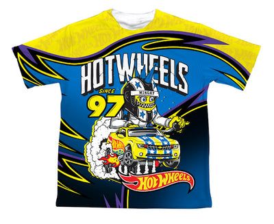 HOT WHEELS MONSTER KIDS TEE