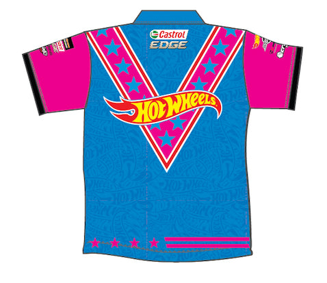 HOT WHEELS STUNT TEAM GIRLS POLO