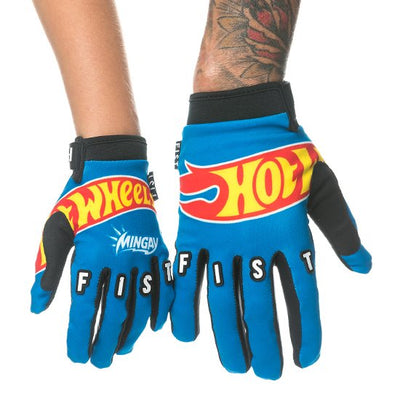 HOT WHEELS MENS FIST GLOVES