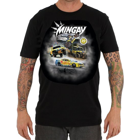 MINGAY 20 YEARS MENS TEE