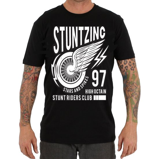 STUNTZ INC STUNT RIDERS CLUB TEE