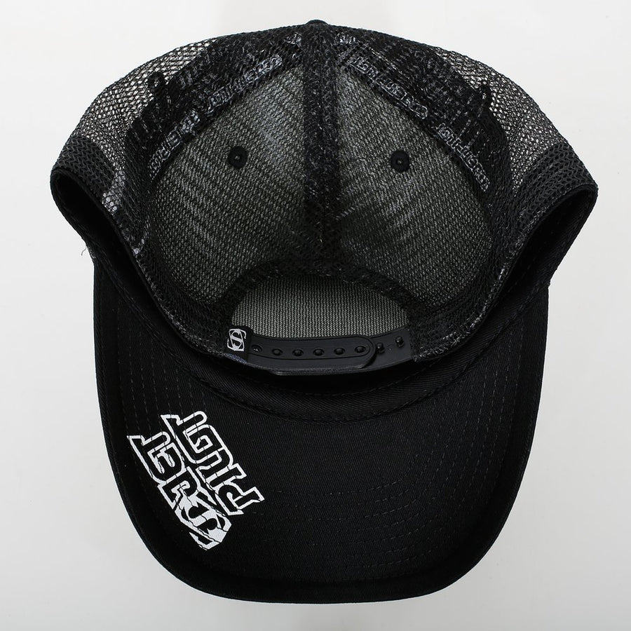 TEAM TRUCKER CAP - BLACK