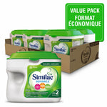Similac Advance Step 2 Baby Formula Powder, 6 x 658 g, Value Pack 雅培二段超值装6桶